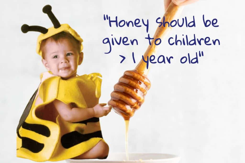Is honey safe for baby